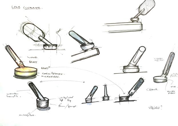 lens sketch