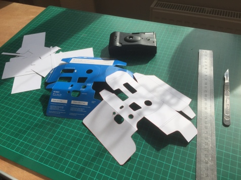 remaking the camera packaging