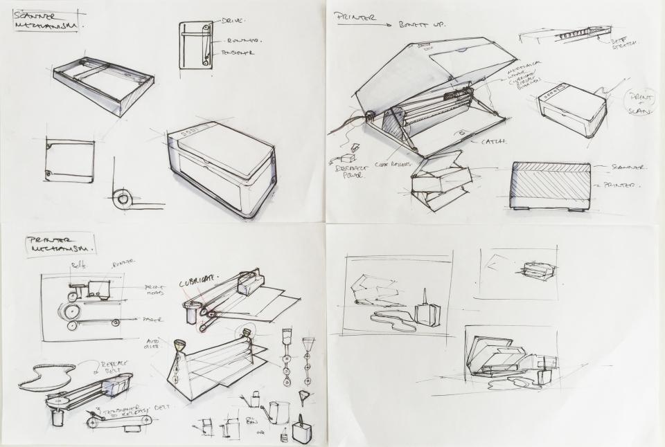 printer sketches